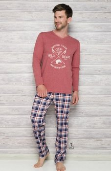 Taro Arek 2130 AW/17 K3 piżama wrzosowa