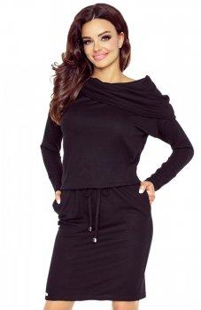 Bergamo 79-04 sukienka czarna
