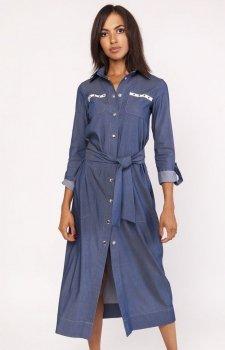 Lanti SUK158 sukienka jeans