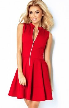 SAF 123-11 sukienka czerwona