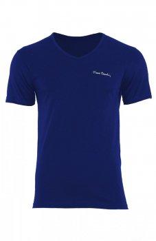 Pierre Cardin V-Neck koszulka granatowa
