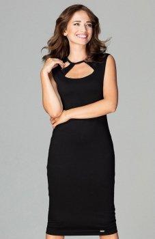 Lenitif K475 sukienka czarna