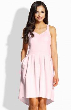 Lemoniade L210 sukienka pudrowy róż