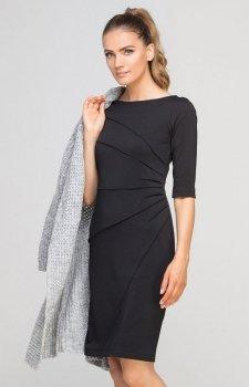 Lanti SUK146 sukienka czarna