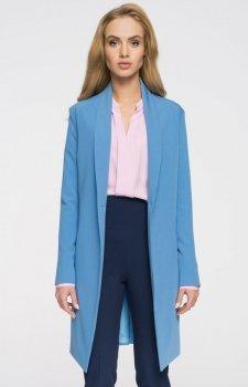Style S071 płaszcz blazer niebieski