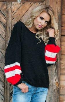 Fobya F578 sweter czarny