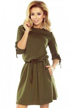*Numoco 176-2 sukienka zielona