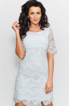 Roco 0204 sukienka szara