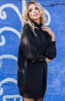 Fobya F574 sukienka czarna