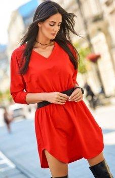 *Numinou NU118 sukienka czerwona