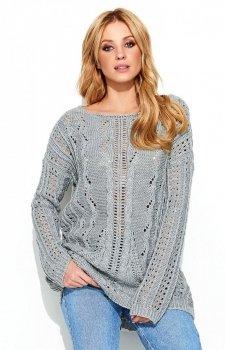 Makadamia S60 sweter szary