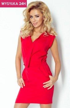 *SAF 94-2 sukienka czerwona