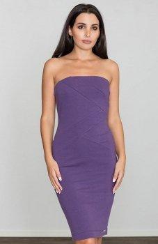 Figl M575 sukienka fioletowa