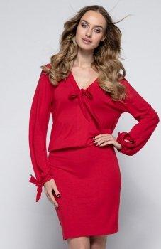 *FIMFI I244 sukienka czerwona