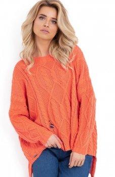 Fobya F625 sweter pomarańczowy