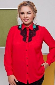 Cover TR1644 koszula czerwona