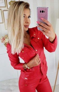 Carmel Zoe kurtka czerwona