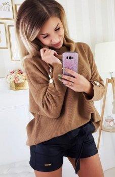 Carmel Zafira sweter karmelowy