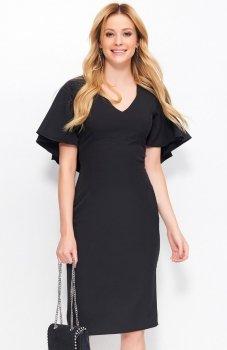 Makadamia M389 sukienka czarna