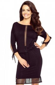 Bergamo 82-02 sukienka czarna