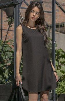 Fobya F542 sukienka czarna