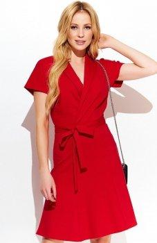 Makadamia M409 sukienka czerwona