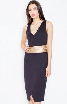 Figl M439 sukienka czarna