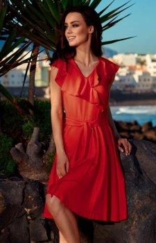 *Lemoniade L253 sukienka czerwona