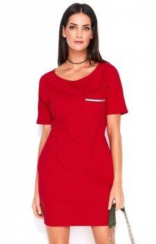 Numinou NU154 sukienka czerwona
