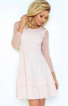 SAF 141-4 sukienka pastelowy róż