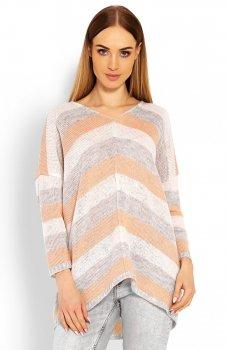 PeekaBoo 30057 sweter morelowy