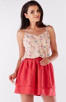 Awama A177 bluzka różowa