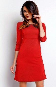 Nommo NA410 sukienka czerwona