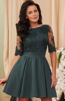 Roco 0084 sukienka zielona