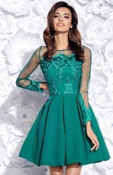 Bicotone 2157-13 sukienka zielona