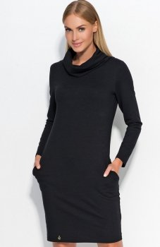Makadamia M331 sukienka czarna