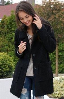 *Roco 0012 płaszcz czarny