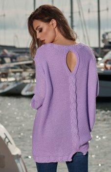 Lemoniade LS218 sweter fioletowy