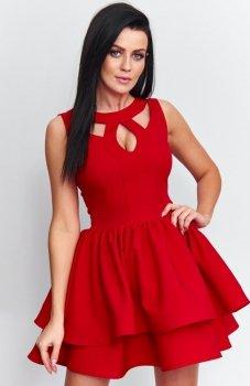 *Roco R-198 sukienka czerwona