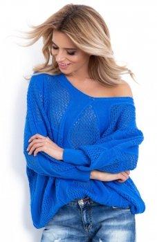 *Fobya F626 sweterek niebieski