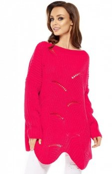 Lemoniade LS209 sweter malinowy