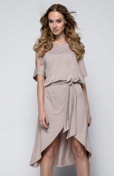 *FIMFI I248 sukienka mocca