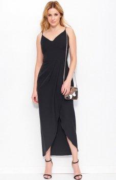 Makadamia M390 sukienka czarna