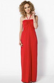 Makadamia 024 sukienka czerwona
