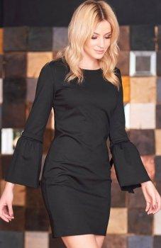 *Makadamia M365 sukienka czarna