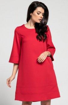 Nommo NA291 sukienka czerwona