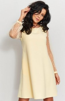 Roco 190 sukienka żółta