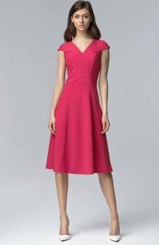 *Nife S60 sukienka fuksja