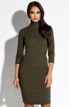 Dursi Carino sukienka oliwkowa