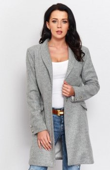 Roco P002 płaszcz szary